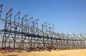 Estructura metálica Babil Stadium